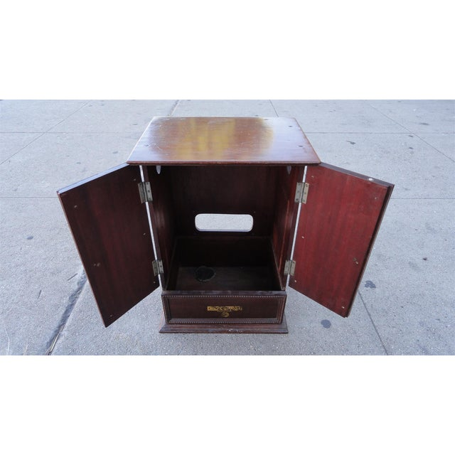 Gecophone Solid Mahogany Small Cabinet - Image 4 of 8