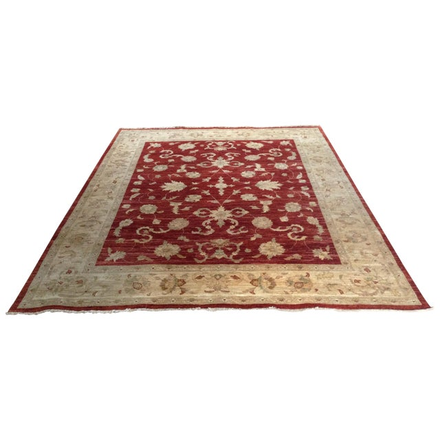 Hand-Knotted Oriental Wool Rug - 8'x10' - Image 1 of 8