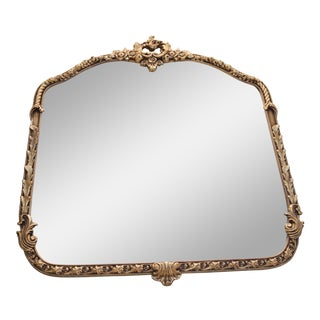 Beautiful Gold Leaf Antique Mirror
