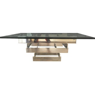 Paul Mayen Stacked Chrome Coffee Table