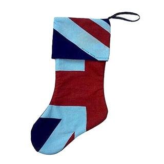 Antique Union Jack Christmas Stocking