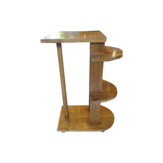 French Art Deco Geometric Table