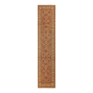 """Kafkaz Peshawar Susy Rose Ivory Wool Rug - 2'6"""" x 11'9"""""""