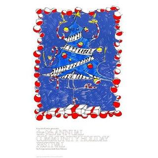 9th Annual Community Holiday Festival Print