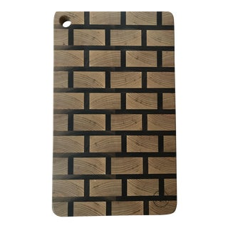 End Grain Brick Pattern Cutting Board / Serving Board