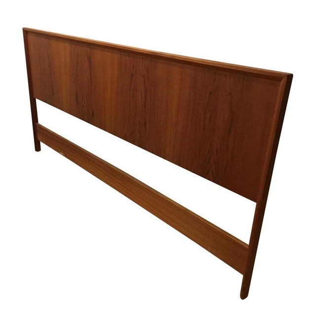 Teak King Size Headboard - Image 1 of 7
