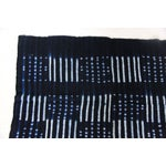 Image of Vintage Indigo African Ayo Mud Cloth