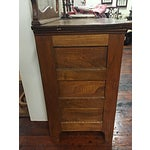 Image of Antique Oak Dry Wash Stand