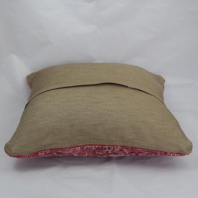 Turkish Handmade Kilim Pillow - Image 4 of 5