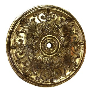 Gold Leaf Ceiling Medallion