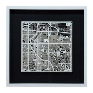 Sarreid Ltd. Denver Framed Map