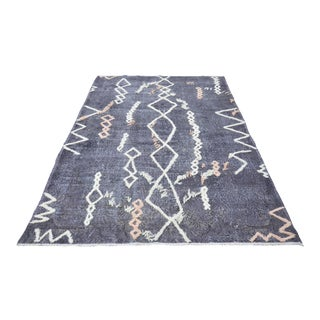 Turkish Tribal Handwoven Rug - 6′ × 9′6″