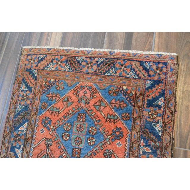 """Antique Persian Heriz Rug - 3' x 5'7"""" - Image 9 of 11"""