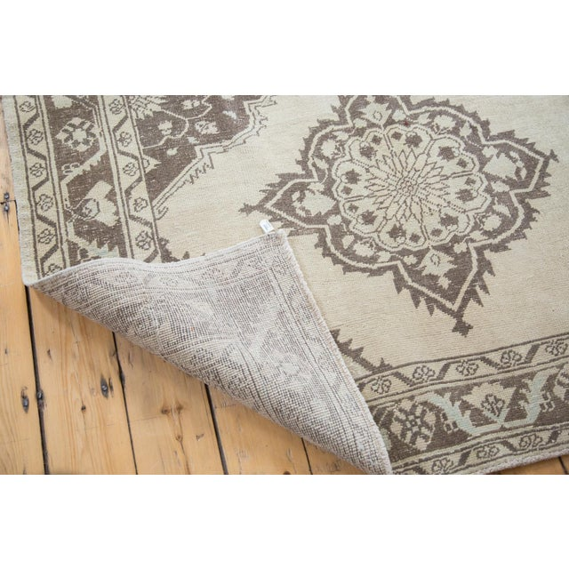 "Distressed Oushak Runner - 5' X 12'10"" - Image 9 of 10"