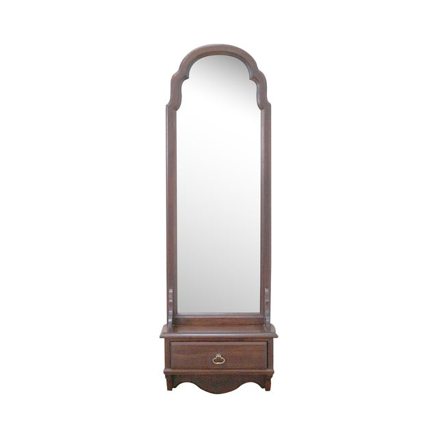 Image of Ethan Allen Georgian Court Solid Cherry Mirror