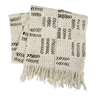 African Mud Cloth Table Runner