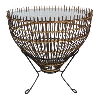 Mid-Century Franco Albini Fish Trap Table