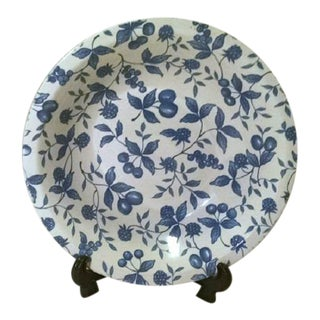 """Stoneware """"Blueberry Hill"""" Serving Bowl"""