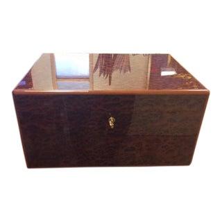 Elie Bleu French Humidor Storage Box