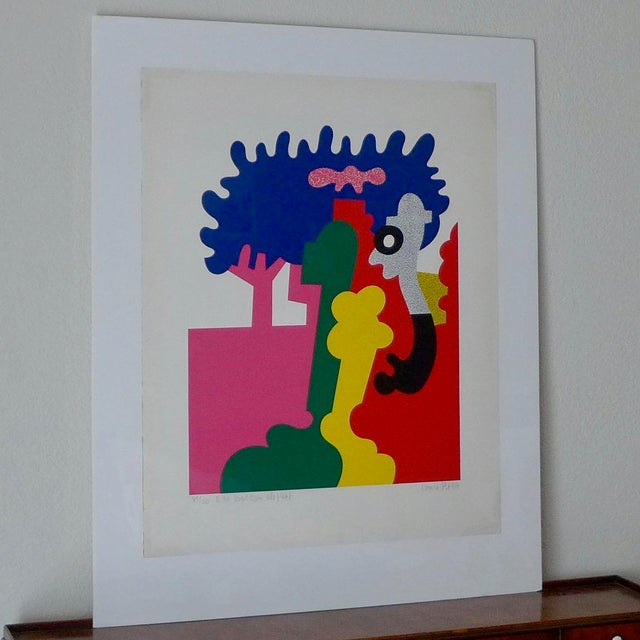 """Otmar Alt """"Der Wolken Elephant"""" Serigraph - Image 2 of 8"""