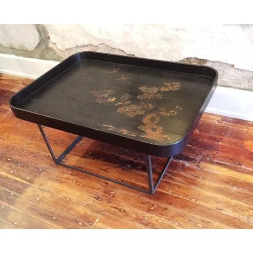 Large Deep Sided Tray Coffee Table Chairish