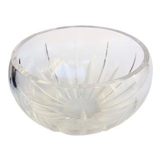 Vintage Fine Crystal Bowl