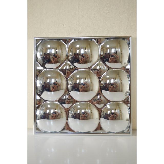 Image of 1960s Mid Century Modern Bubble Mirror