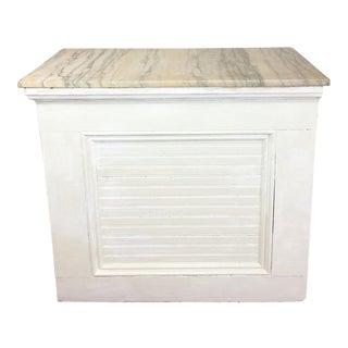 Antique Bakery Marble Top General Store Counter