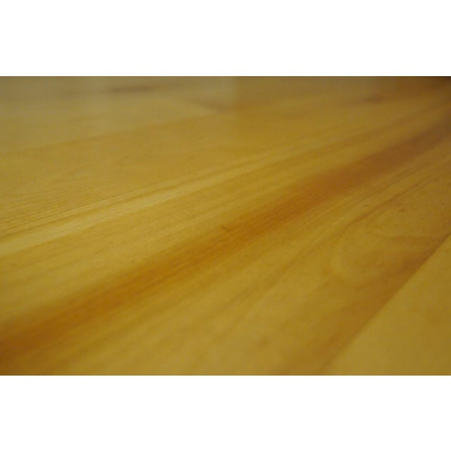 Solid Beech Trestle Table - Image 6 of 9