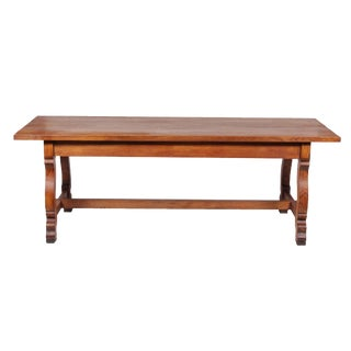 1920s Belgian Trestle Refectory Table