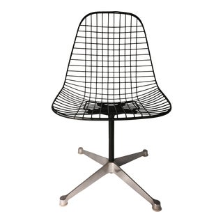Eames Swivel Base Wire Chair