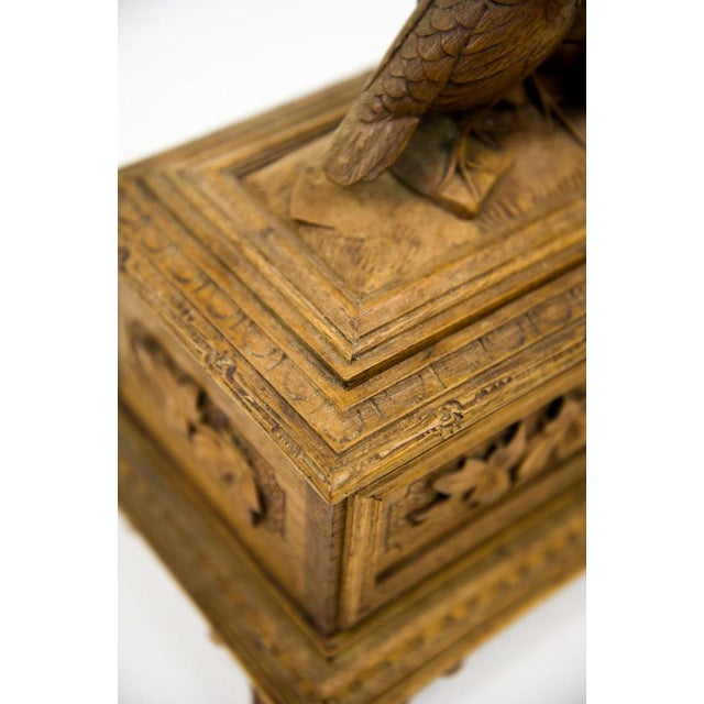 Image of Black Forest Water Bird Jewelry Box