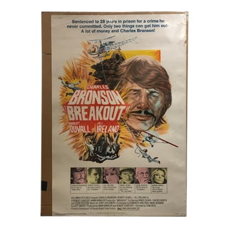 "Columbia Pictures ""Breakout"" Vintage Movie Poster"