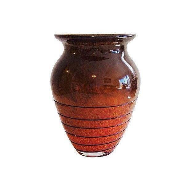 Image of 1930's Bohemian Czech Vase