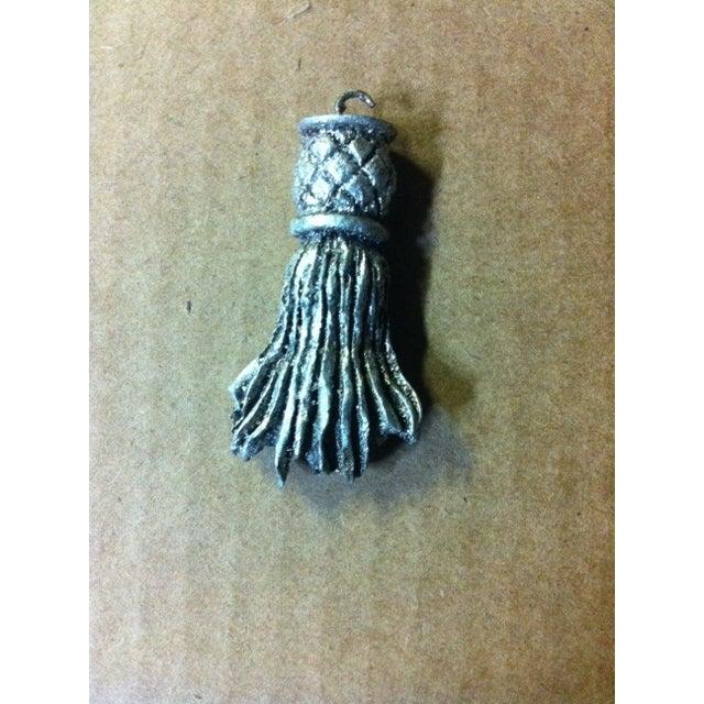 Wood Tassel Five Arm Chandelier - Image 2 of 6