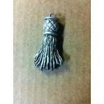 Image of Wood Tassel Five Arm Chandelier
