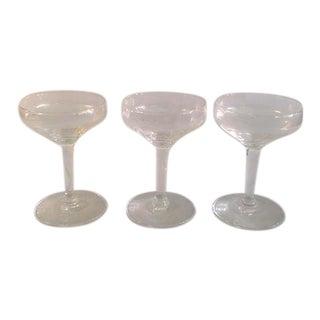 Vintage Cocktail Glasses- Set of 3
