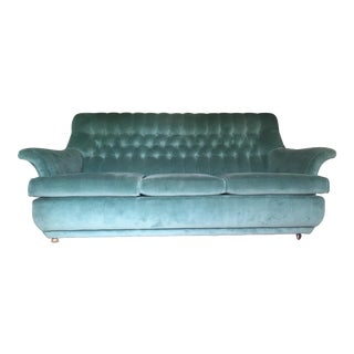 Mid-Century G-Plan Tufted Sofa