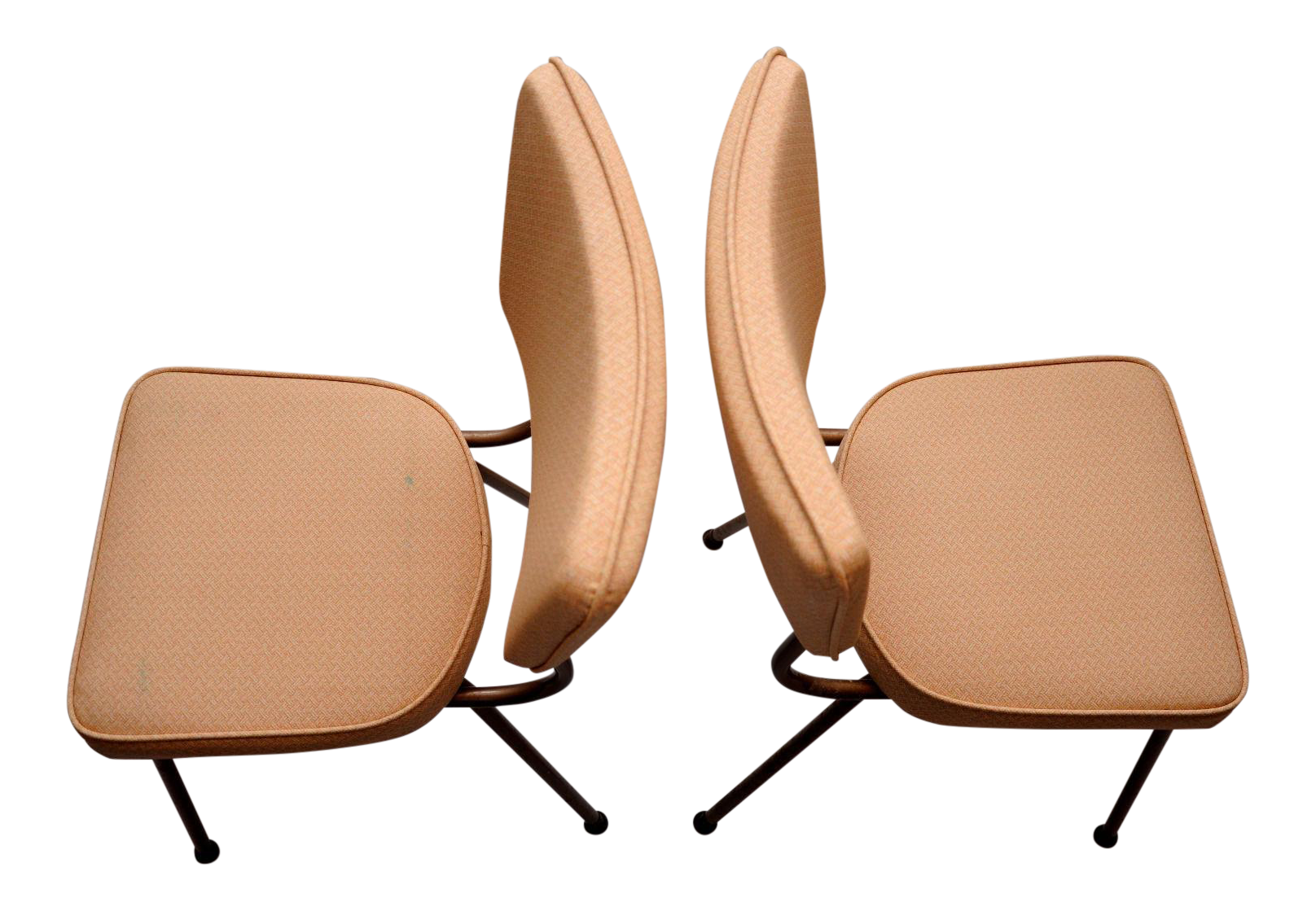 Defco Of Detroit Mid Century Modern Vintage Dining Chairs   Pair   Image 2  Of