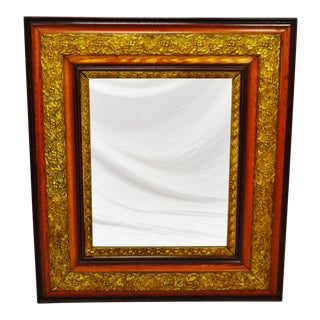 A beautiful antique gesso framed mirror in remarkable condition!