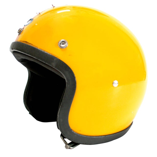 1970s Japanese Motorcycle Helmet - Image 1 of 8