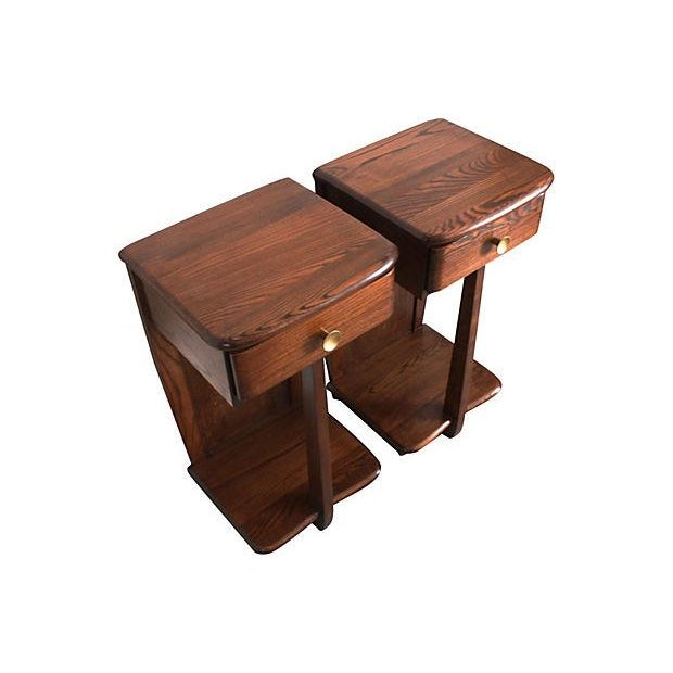Early Mid-Century Modern Nightstands - A Pair - Image 3 of 6