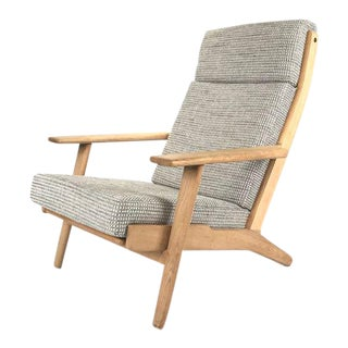 Hans Wegner Danish Oak High Back Chair