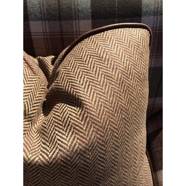 New Ralph Lauren Plaid Fabric Custom Made Sofa Chairish