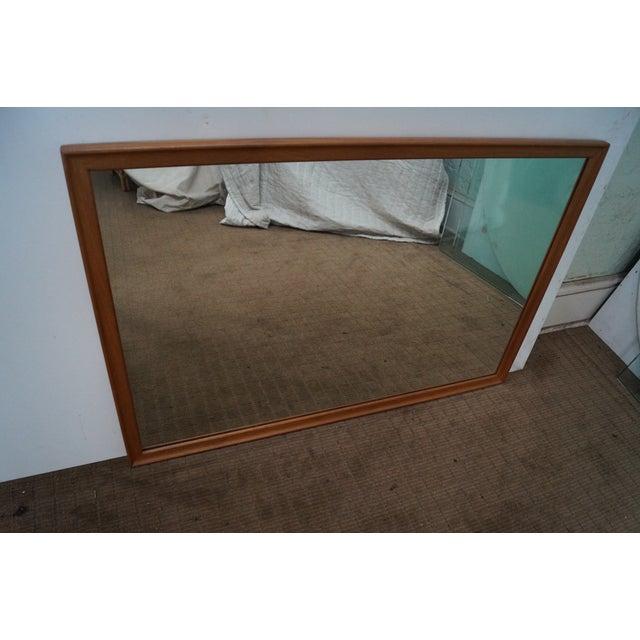 Drexel Declaration Vintage Walnut Wall Mirror - Image 7 of 10
