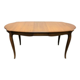 DAVIS CABINET Co Fleming Walnut French Provincial Dining Table