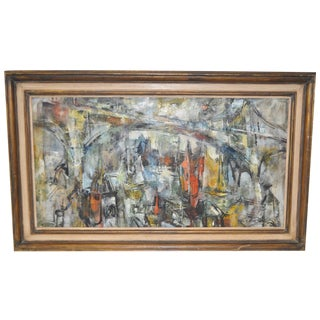 Mid-Century Modern Abstract by Paul Wood