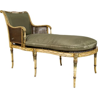 Duchesse Brisée Painted Fainting Couch