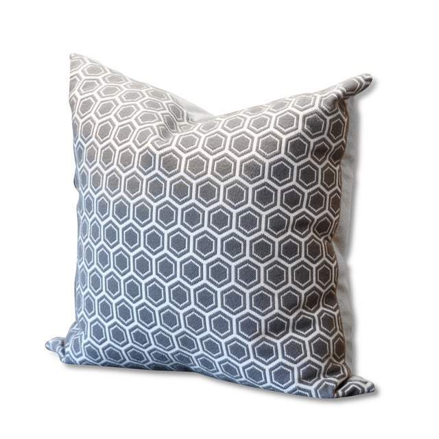 Needlepoint Hex Pillow - Image 1 of 2