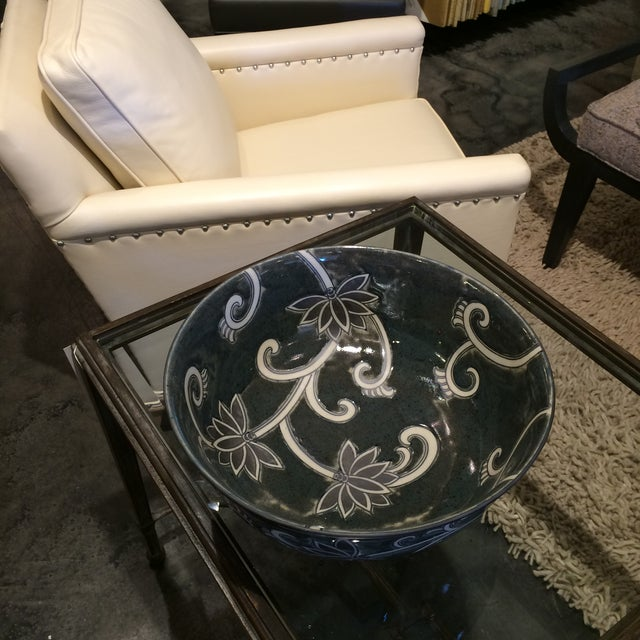 Image of Floral Ceramic Bowl